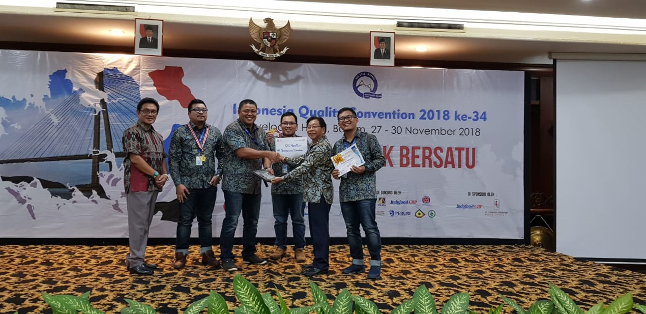 Gold Award at Indonesia Quality Convention th 2018