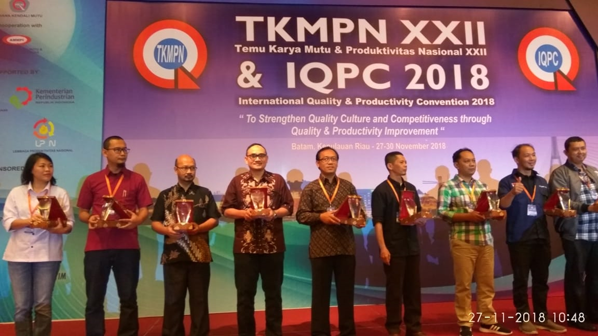 Platinum Award at TKMPN & IQPC th 2018